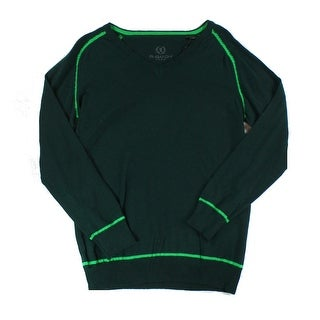 Bugatchi Uomo NEW Green Mens Size Small S V-Neck Wool Pullover Sweater