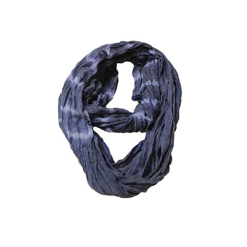 Collection Xiix Blue Chambray Dye Infinity Loop OS