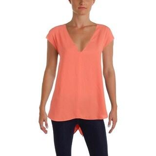 Rachel Rachel Roy Womens Blouse V-Neck Hi-Low (2 options available)