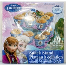 Disney Frozen Party Serveware Collection, a Selection of Platters, Cupcake Stands, and More (2 Tier Cupcake Stand)