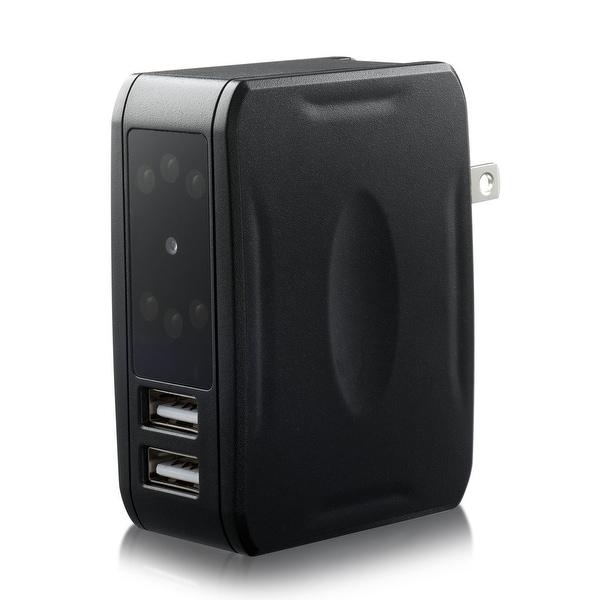 Spytec Ips-40 Dual Usb Adapter With Night Vision Hidden 1080P Hd Camera