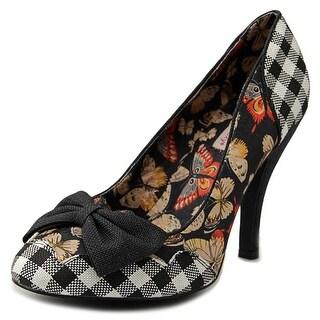 Dolce by Mojo Moxy Bashful Women Round Toe Canvas Multi Color Heels