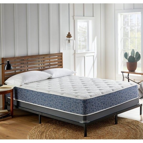 11-Inch Firm Hybrid Mattress, CertiPUR-US Foam. Opens flyout.
