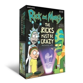 Rick and Morty: The Ricks Must Be Crazy Multiverse Game - multi