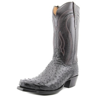 1883 By Lucchese Montana Men 2E Square Toe Leather  Western Boot