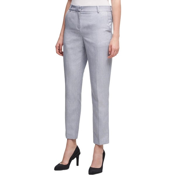DKNY Womens Dress Pants Skinny Crop