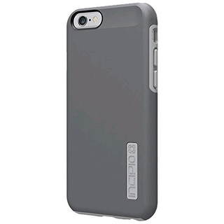 Incipio DualPro Case Cover for Apple iPhone 6 (Gray/Gray) - IPH-1179-GRY