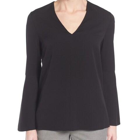 Classiques Entier Women's Medium Bell Sleeve V-Neck Blouse