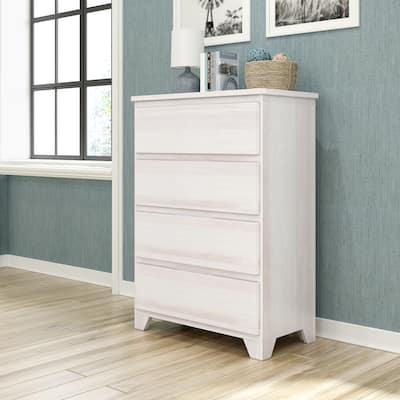 Max & Lily Farmhouse 4 Drawer Dresser