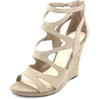 Jessica Simpson Delina Women Open Toe Synthetic Wedge Sandal