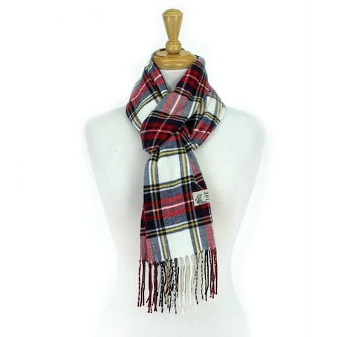 Super Soft Luxurious Classic Check Cashmere Feel Winter Scarf