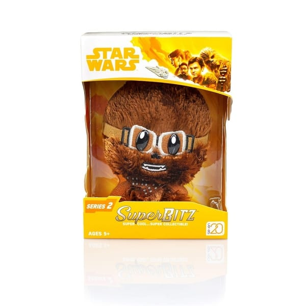 "Chewie w// Goggles SDCC/'18 Exclusive Star Wars 4/"" Super Bitz Plush"