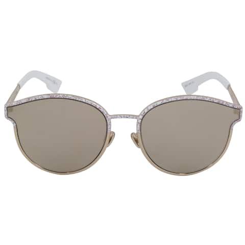 8646d8b2ec Christian Dior Symmetric Sunglasses GBZQV 59 Gold Frame Gold Mirrored Lenses