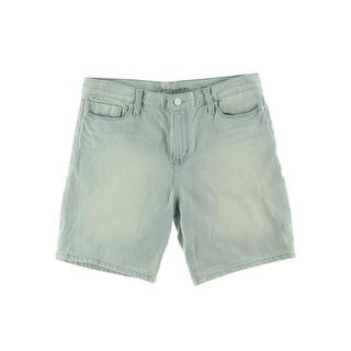 Calvin Klein Jeans Womens Juniors Casper Relaxed Boyfriend Shorts
