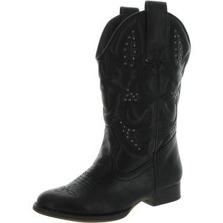 Volatile Girls Grit Cowboy Fashion Boots