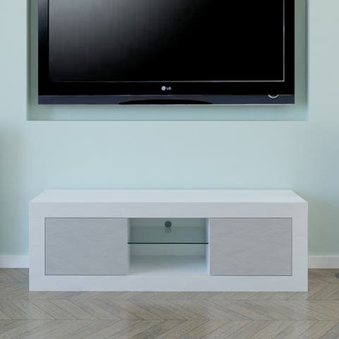 Modern TV Stand with LED Light Television Stand - 50 inches