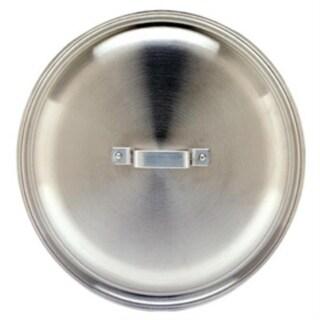 Bayou Classic AL-7404 16.73 Inch  4 Gallon Jambalaya Pot Lid - Silver