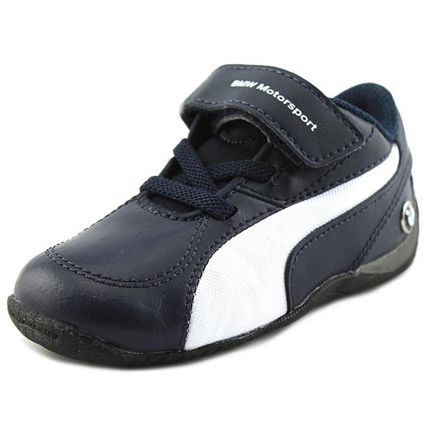 088c88435b9 Shop Puma Drift Cat 5 BMW L Toddler Round Toe Leather Blue Sneakers ...