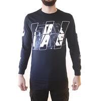 Star Wars Negative Effect Logo Men's Black T-shirt