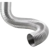 """Deflecto(R) AO48/20-A Semi-Rigid Flexible Aluminum Duct (4"""" dia x 8ft)"""