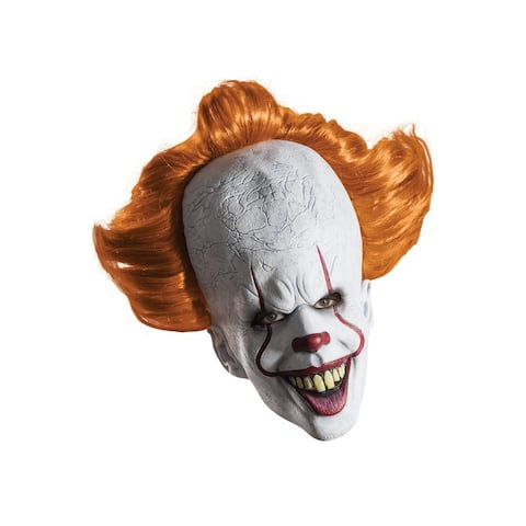 Rubies IT Pennywise Adult Overhead Mask - White