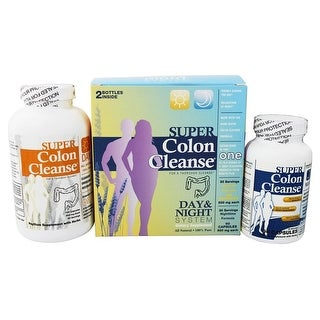 Health Plus - Super Colon Cleanse Day/Night System 2 pc