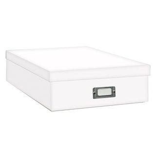 Pioneer Photo Albums Jumbo Scrapbook Storage Box (White)