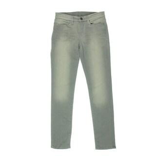 Calvin Klein Jeans Womens Denim Whisker Wash Skinny Jeans - 33/30