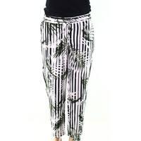 Lauren by Ralph Lauren White Womens Size 4 Printed Leaves Pants