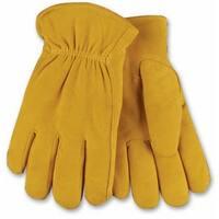 Kinco 903HK-M Men's Full Suede Deerskin Leather Glove, Medium
