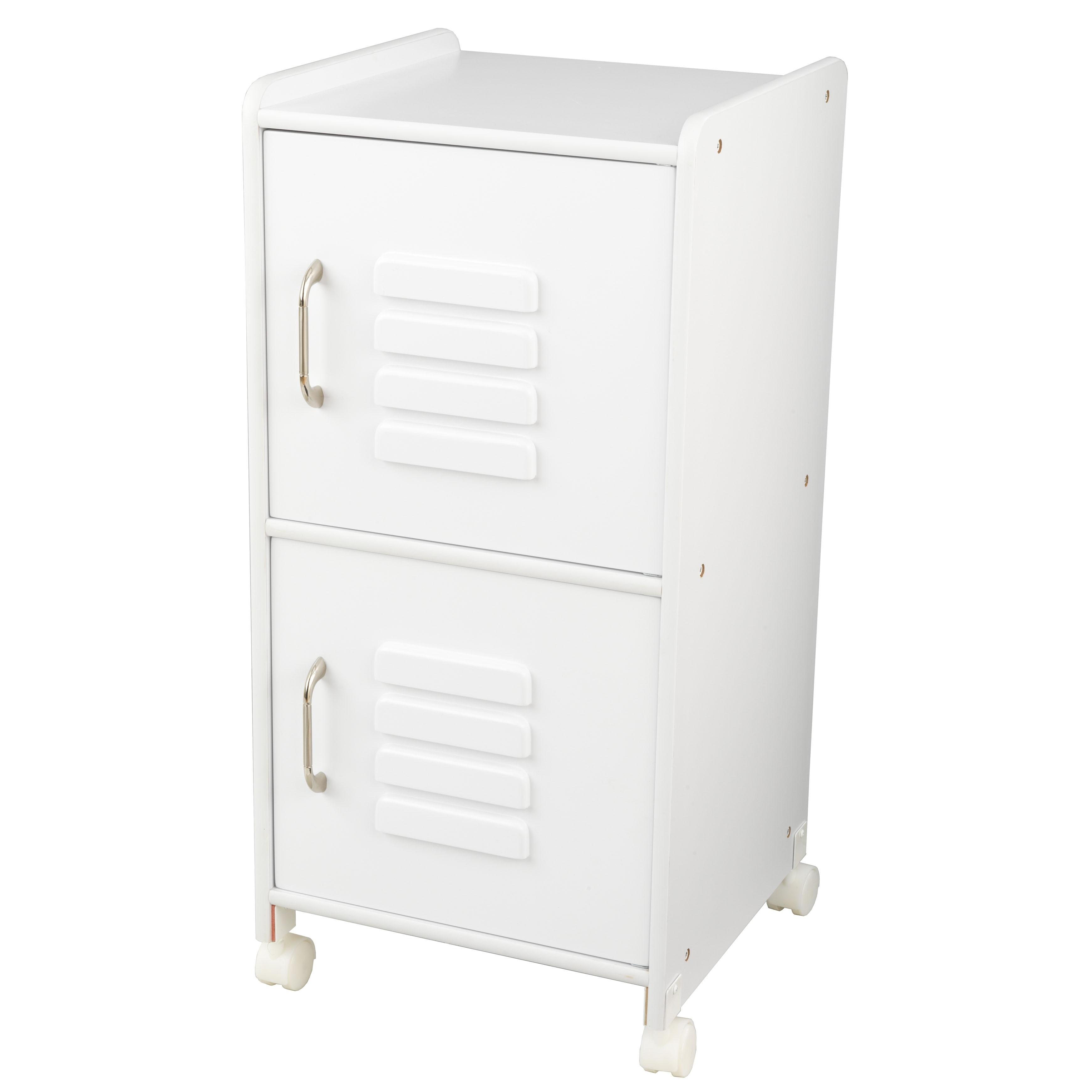 KidKraft: Medium Locker - White