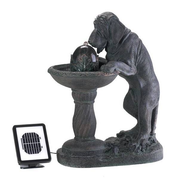 Top Sale Thirsty Dog Solar Fountain