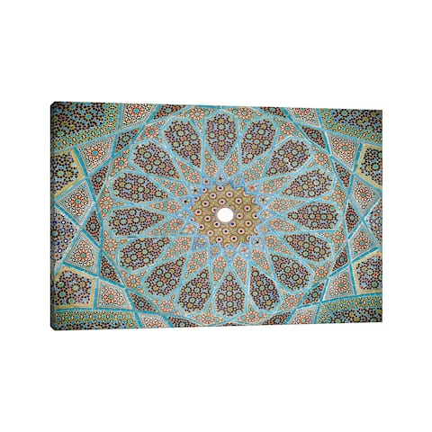 """iCanvas """"Tomb of Hafez Mosaic"""" by Unknown Artist Canvas Print"""
