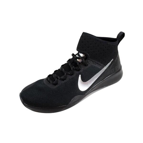 cb4773b5cc9e4 Shop Nike Women s Air Zoom Strong 2 Selfie Black Chrome AH8195-001 ...