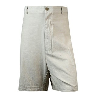 Roundtree & Yorke Men's Big & Tall Straight Fit Cotton Shorts