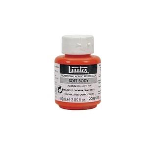 Liquitex Soft Body Acrylic Paint, Light Red, 2 oz
