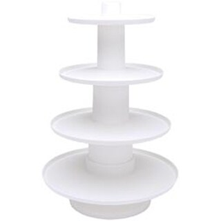 "16.25""X12"" Holds 36 Cupcakes - 4 Tier Dessert Tower"