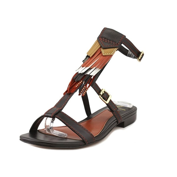 Brian Atwood Megan Rust Multi Sandals