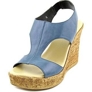 Callisto Women's Teane Open Toe Wedge Sandals