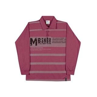 Tween Boys Long Sleeve Shirt Striped Polo Tee Pulla Bulla Sizes 10-16 Years
