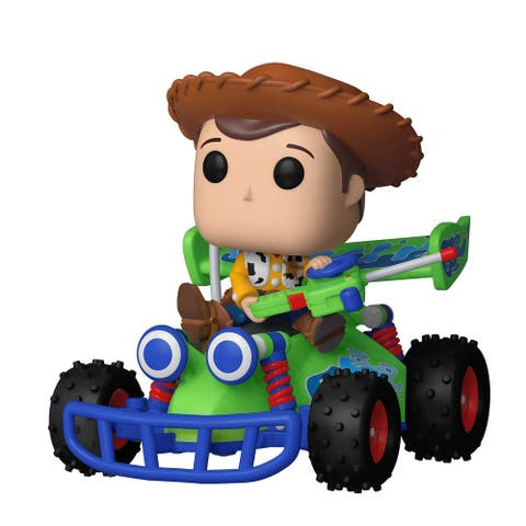 "FunKo POP! Rides Toy Story Woody w/ RC 5"" Vinyl Figure"