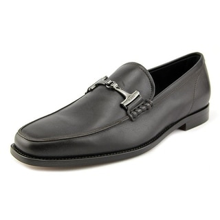 Tod's Morestto T Her Square Toe Leather Loafer