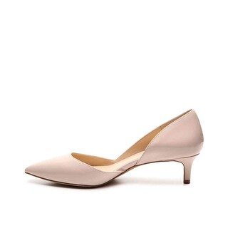 Vince Camuto Womens Jordyna Leather Pointed Toe D-orsay Pumps