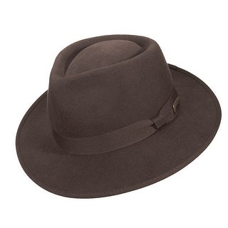 Dorfman Pacific Indiana Jones Boys' Wool Fedora