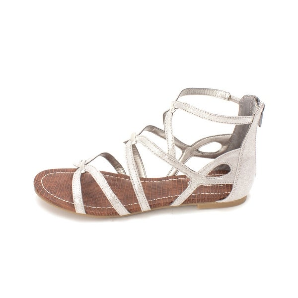 Carlos by Carlos Santana Womens Emma Fabric Open Toe Casual Gladiator Sandals - 7