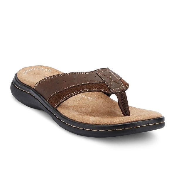 f80e8de5f22b Shop Dockers Mens Laguna Casual Flip-Flop Sandal Shoe - On Sale ...