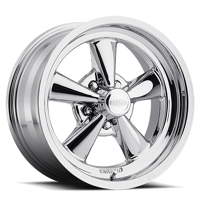 Cragar 610c g/t 17x8 5x127 +00et 90.93mm chrome plated wheel -  Overstock