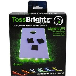 Brightz, Ltd. A5427 TossBrightz Bag Game LED Lighting Kit, Green