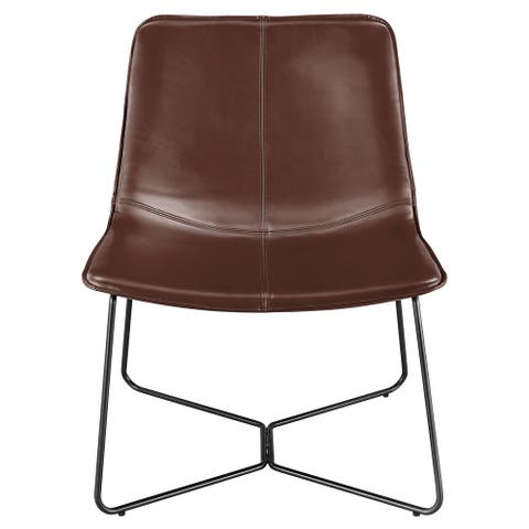 Zuma PU Leather Accent Chair
