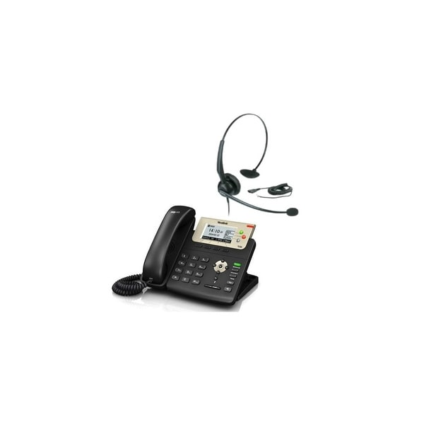 Yealink SIP-T23G with Headset Professional Gigabit IP Phone with Headsets